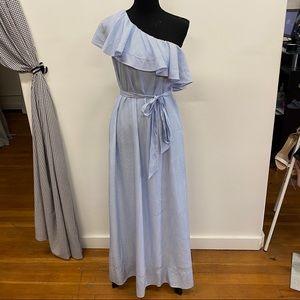 Banana Republic One Shoulder Maxi Dress. NWT